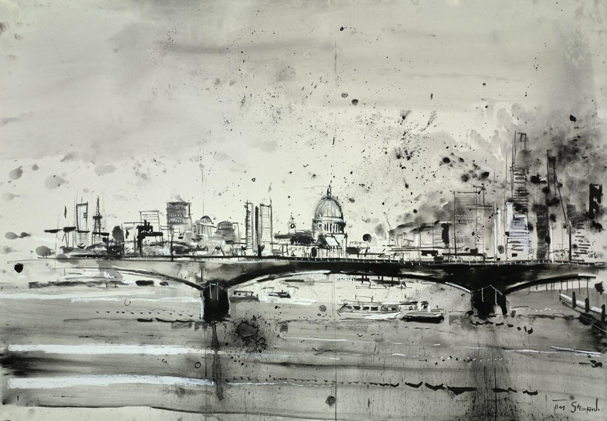St Pauls and Waterloo Bridge